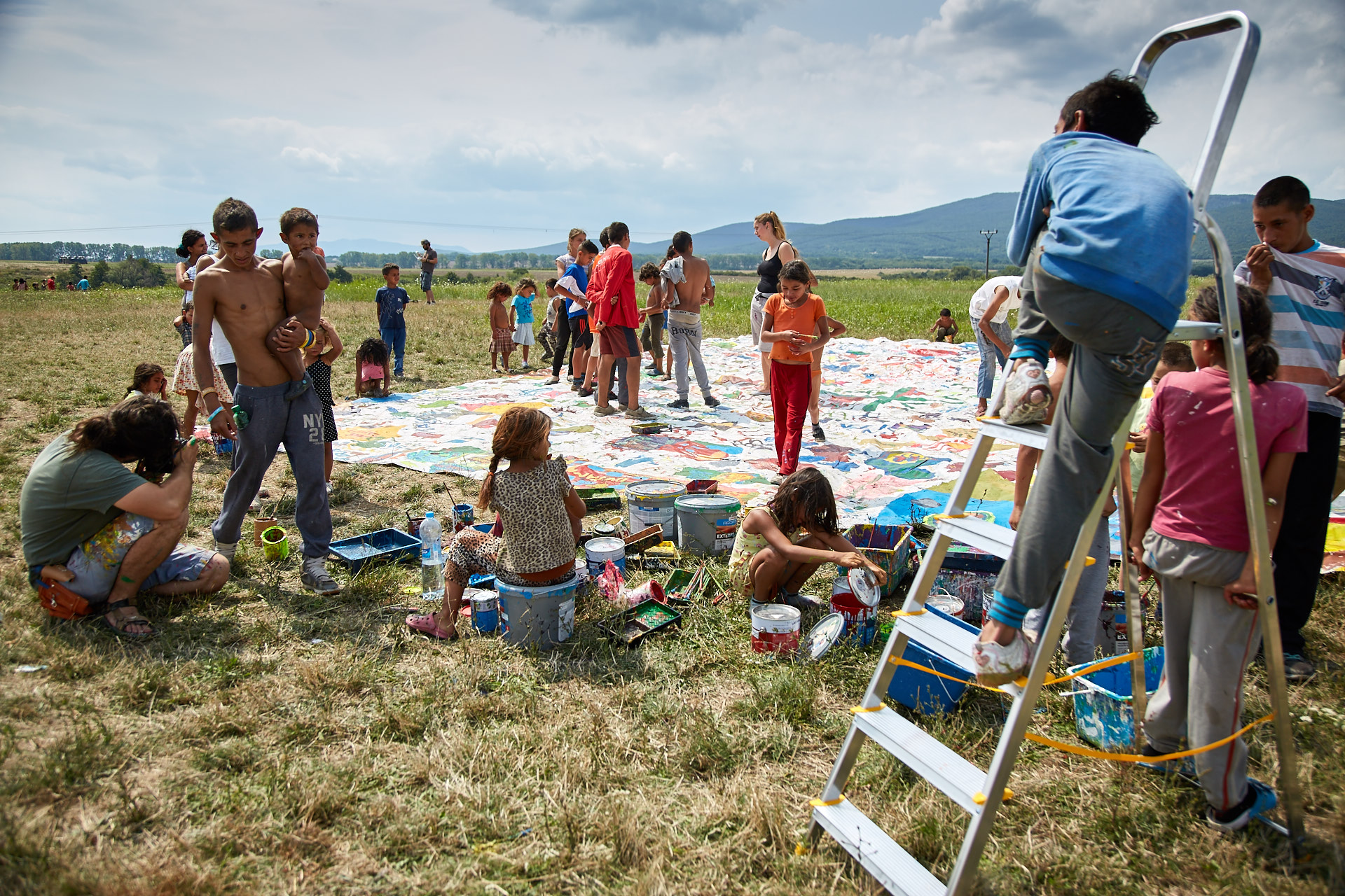 Art Aktivista Tomas Rafa Maliarsky workshop Secovce 2016 CB7B9643